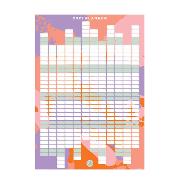 2021 Wall Calendar by The Completist
