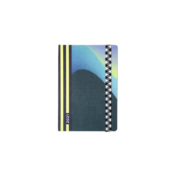 2021 Weekly Le Rendez-Vous Waves Pocket Planner by Papier Tigre