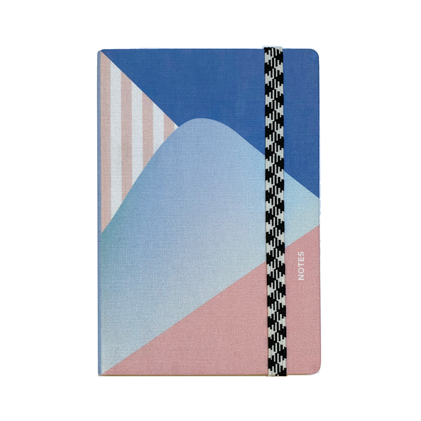 Le Carnet A6 Canvas Dot Grid Dune Notebook by Papier Tigre