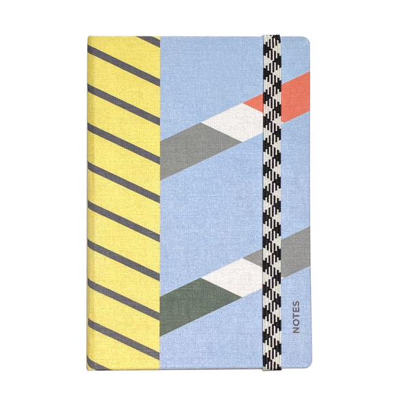 Le Carnet A6 Canvas Dot Grid Canal Notebook by Papier Tigre