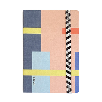 Le Carnet A6 Canvas Dot Grid City Notebook by Papier Tigre
