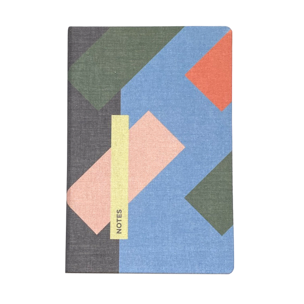 Le Carnet A6 Canvas Dot Grid Traffic Notebook by Papier Tigre