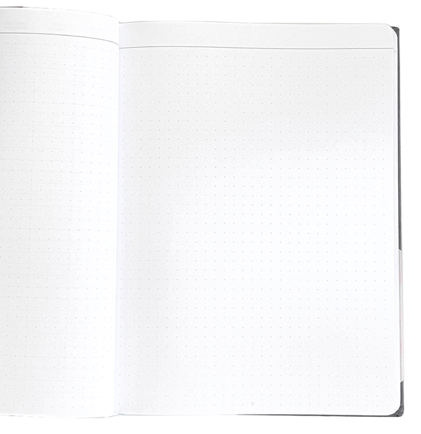 Le Carnet A5 Canvas Dot Grid Dune Notebook by Papier Tigre