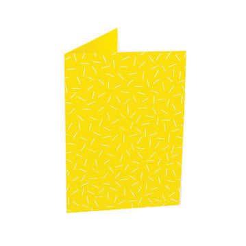 Dash Card Yellow by Tom Pigeon