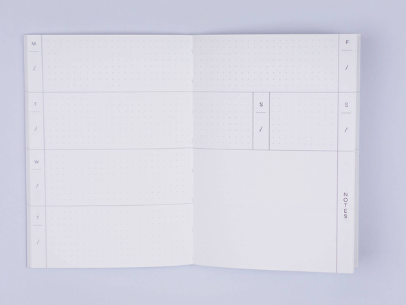 Pocket Weekly & Monthly Planner by The Completist