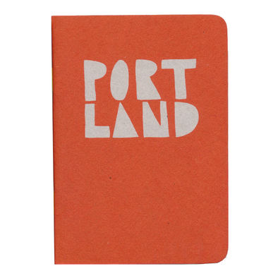 Portland Pocket Notebook Yellow Staples by Little Otsu