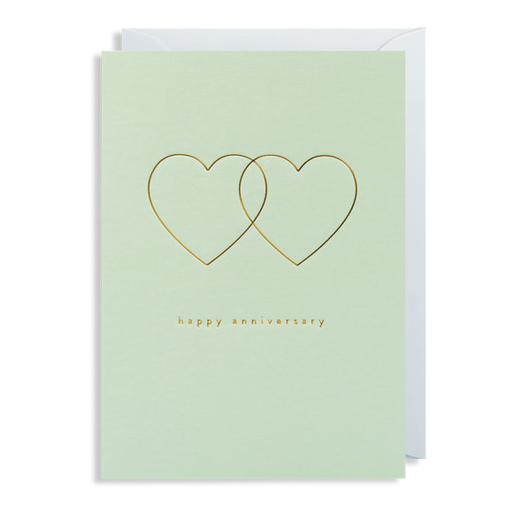 Postco Mint Anniversary Card by Lagom