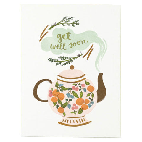 Get Well Soon Card by Quill & Fox