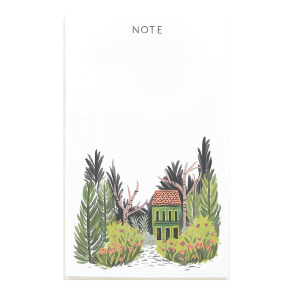Hidden Villa Notepad by Quill & Fox