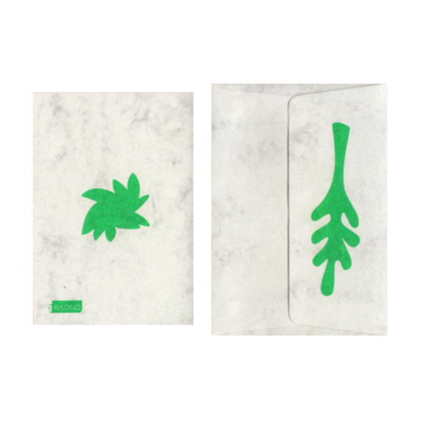 Foliage Card by Risotto