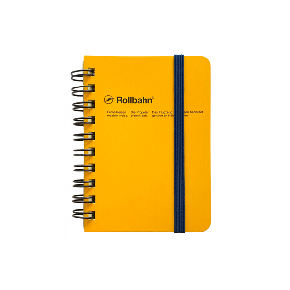 Rollbahn Spiral Mini Memo Notebook by Delfonics