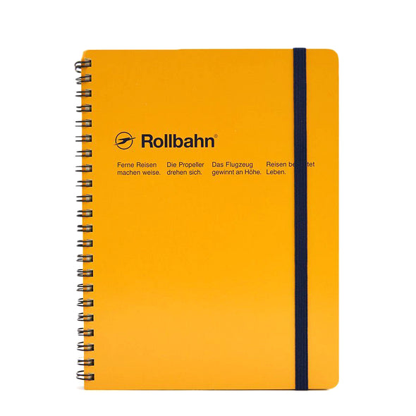 Rollbahn Spiral Notebook Large (A5) by Delfonics