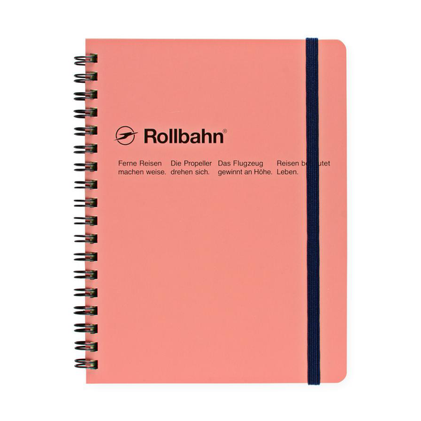 Rollbahn Spiral Notebook Medium by Delfonics