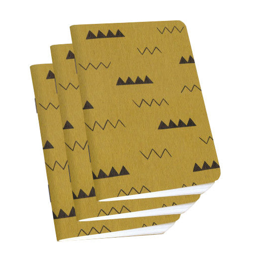 Zig Zag Notebook 3-Pack by Scout Books