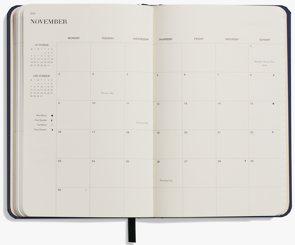 2020 Weekly & Monthly Planner by Shinola