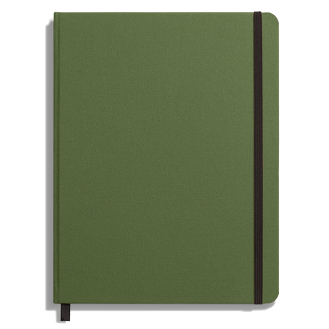 Hard Linen Large Journal by Shinola