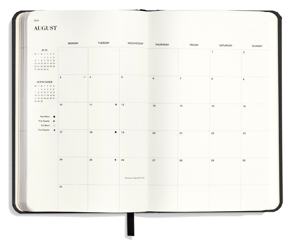 2020-2021 18-Month Runwell Monthly & Weekly Planner by Shinola