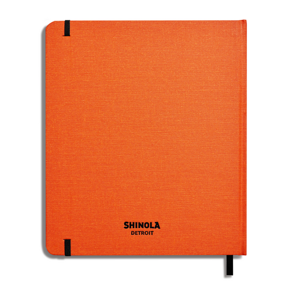 Hard Linen Sketchbook by Shinola