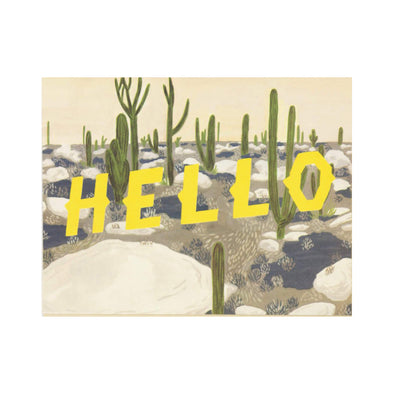 Hello Desert Card by Small Adventure