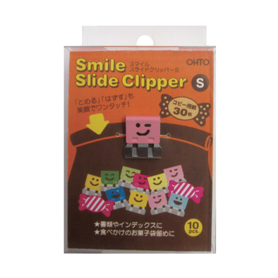 Smile Slide Clips Small by Ohto