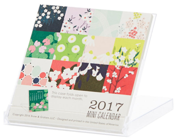 2017 Mini Calendar by Snow & Graham