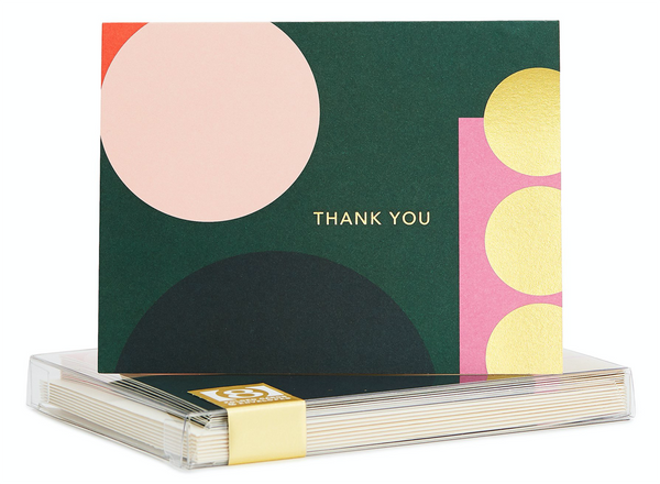 Thank You Geo Set of 8 Cards by Snow & Graham