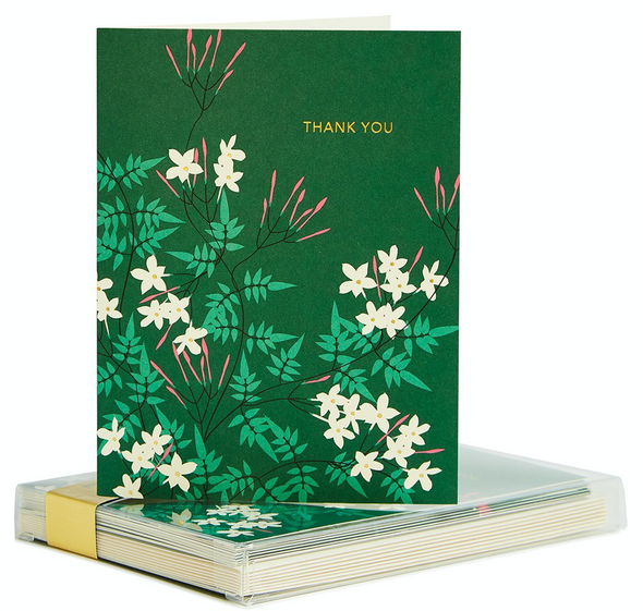 Jasmine Thank you Card Set by Snow & Graham
