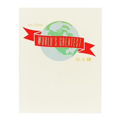 World's Greatest Dad Card by Snow & Graham
