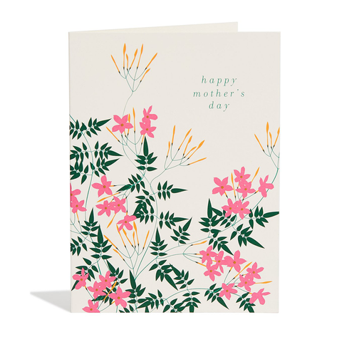 Happy Mother's Day Jasmine Card by Snow & Card