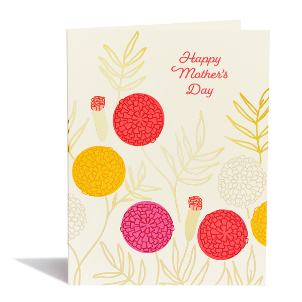 Happy Mother's Day Marigold Card by Snow & Graham