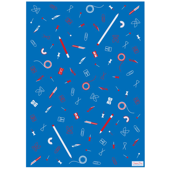 Stationery Wrapping Paper by Crispin Finn