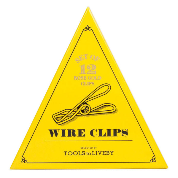 Tools to Liveby Wire Clips