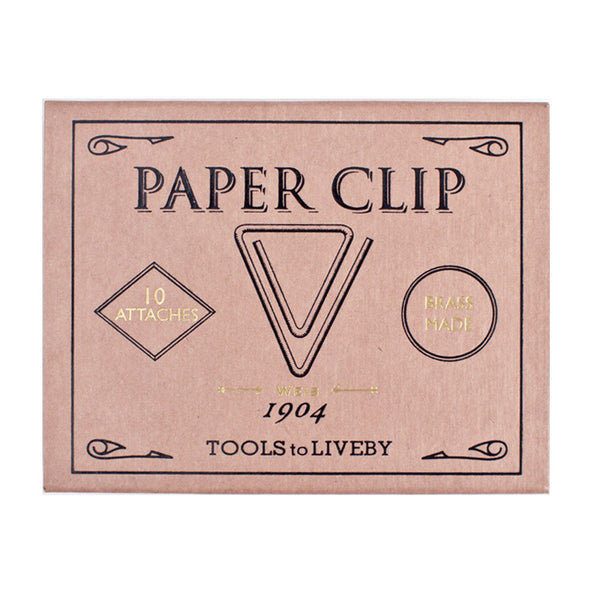 Brass Clip Weis by Tools to Liveby
