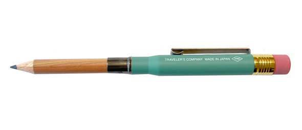 Limited Edition Factory Green Brass Pencil by Traveler's Company