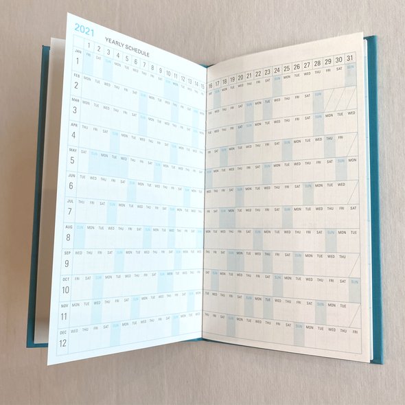 2021 Linklet Monthly Planner by Trystrams