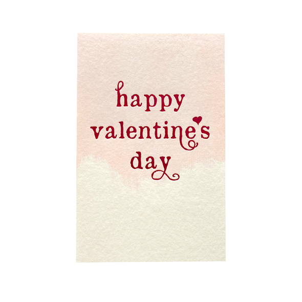 Valentine's Day Foil Card by Smock