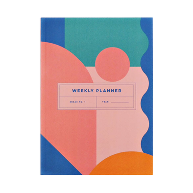 Weekly & Monthly Planner Book by The Completist