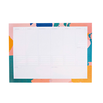 Weekly Planner Pad by The Completist