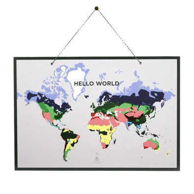 World Map by Papier Tigre