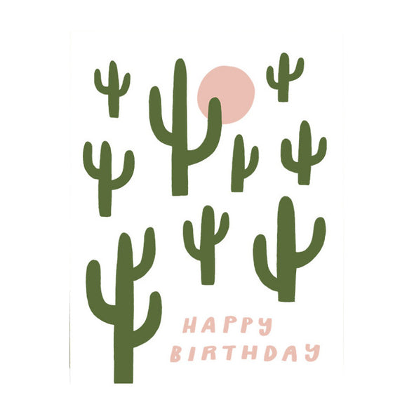 Happy Birthday Cactus Card by Worthwhile