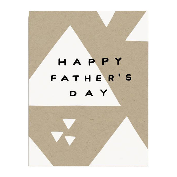 Triangle Father's Day Card by Worthwhile Paper
