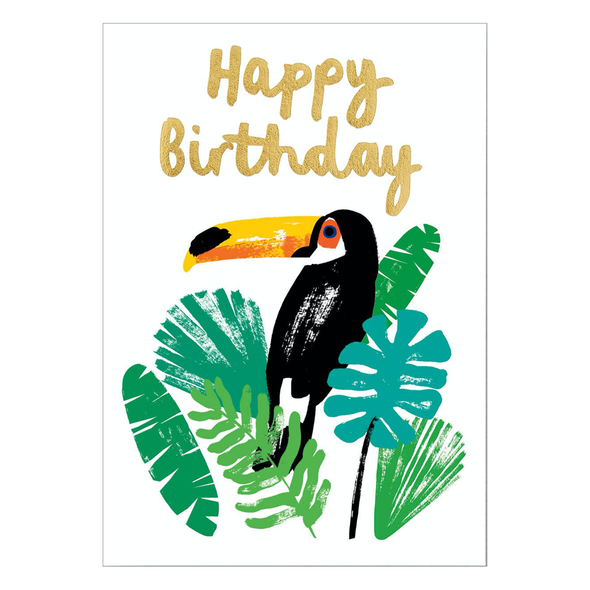 Charlotte Trounce Toucan Happy Birthday Card by Wrap