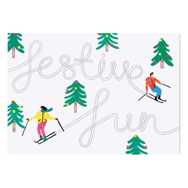 Charlotte Trounce Festive Fun Card by Wrap