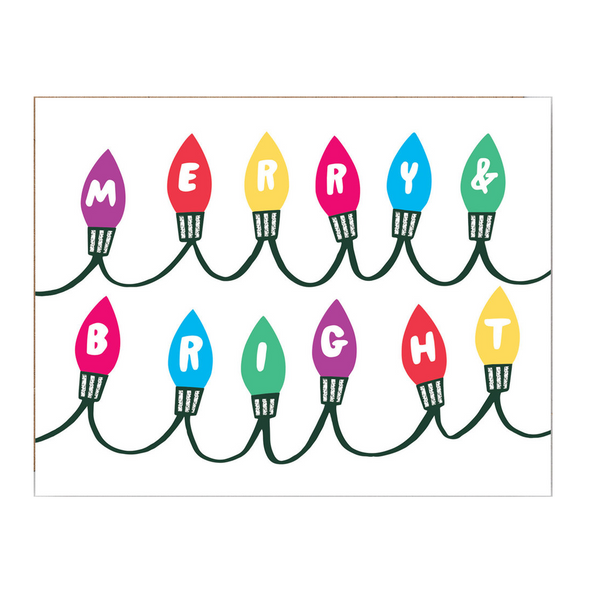Sandi Falconer Bright Lights Card by Wrap
