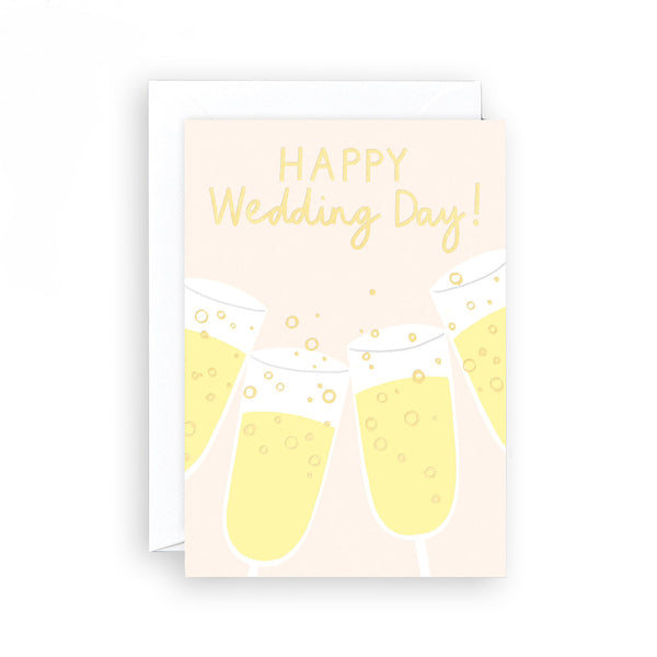 Charlotte Trounce Happy Wedding Day Card by Wrap