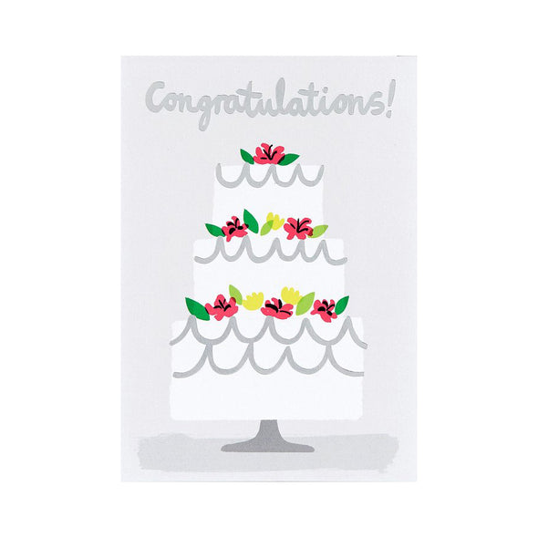 Charlotte Trounce Congratulations Cake Card by Wrap