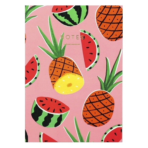 Pineapples & Watermelons Notebook by Wrap