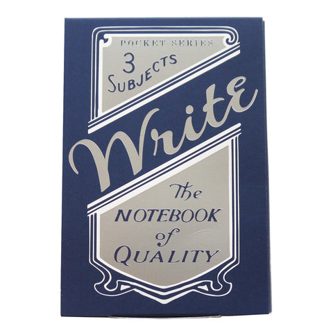 Write Notepads & Co. Pocket Notebook Set