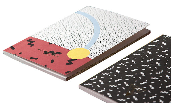 Super Confetti Notebook by Write Sketch &