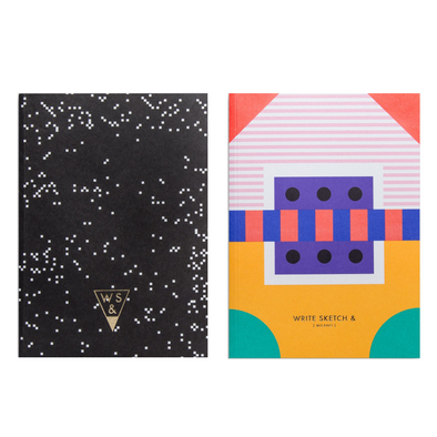 Super Arcade Notebook by Write Sketch &